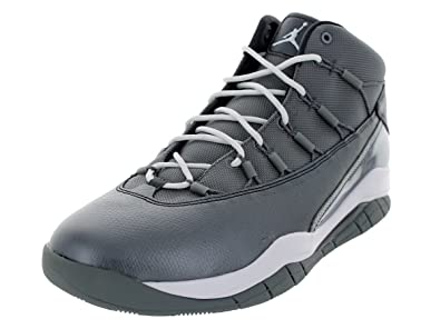 quality design c0815 7b05e Image Unavailable. Image not available for. Color  Jordan Nike Men s Prime  Flight Cool Grey White Anthracite Basketball Shoe ...