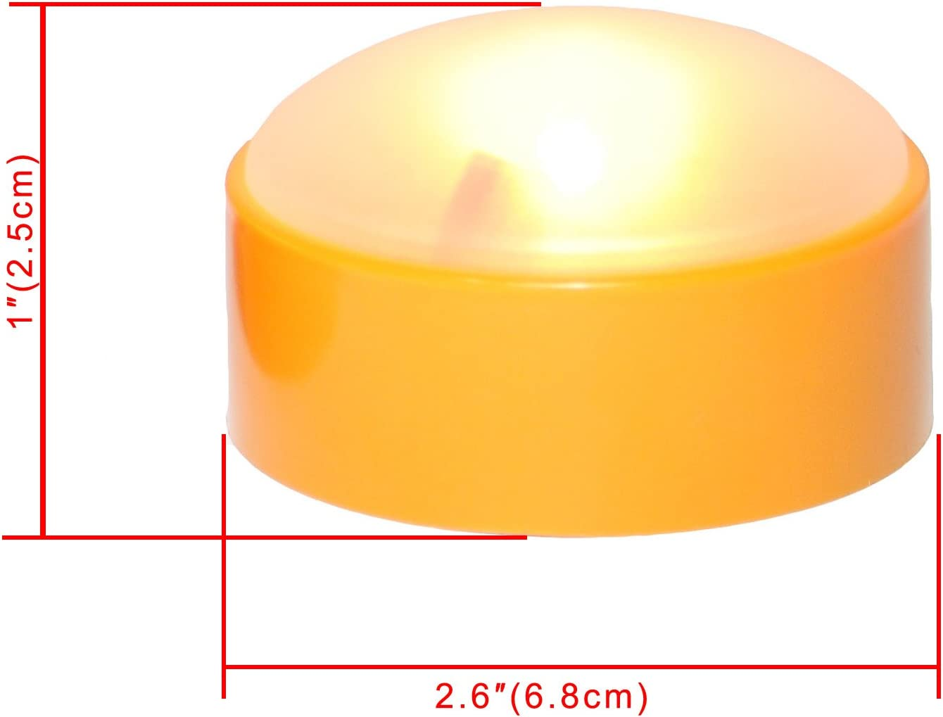 Jack-O-Lantern Light Candle Choice LED Pumpkin Light with Remote and Timer Flameless Candle for Pumpkin Halloween Light