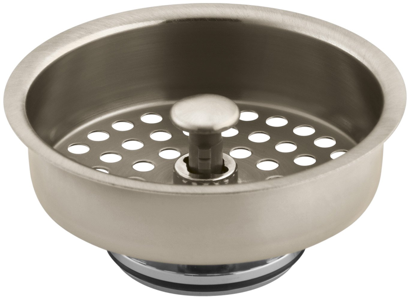 KOHLER K-8803-BV Duostrainer Basket Strainer, Vibrant Brushed Bronze by Kohler