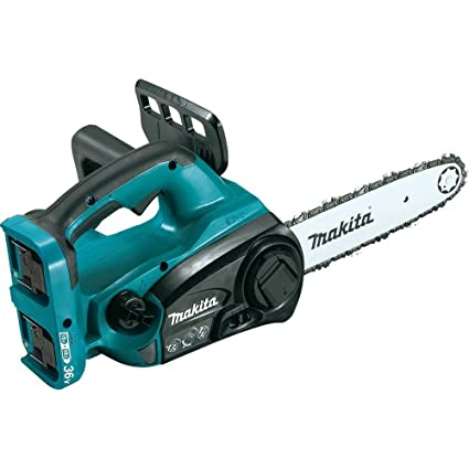 Amazon makita xcu02z 18v x2 36v lxt lithium ion cordless 12 makita xcu02z 18v x2 36v lxt lithium ion cordless 12quot chain saw greentooth