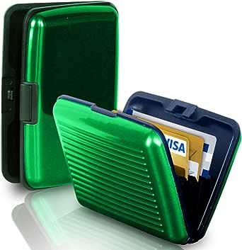 محفظة لبطاقات الائتمان للجنسين من الوما - أخضر
