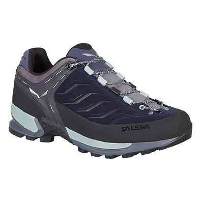 Salewa Damen WS MTN Trainer Trekking-& Wanderhalbschuhe, Blau (Premium Navy/Subtle Green 3981), 37 EU