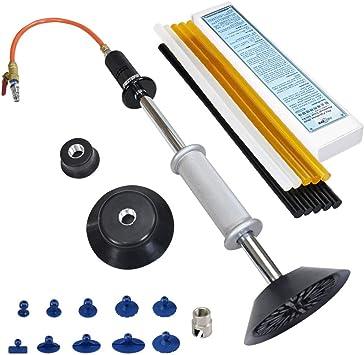 attrezzi per auto Dent Puller carrozzeria Dent Removal Tool Kit estrattore Dent Paintless Removal utensile per la rimozione dellaria martello pneumatico Kit di riparazione di ammaccature