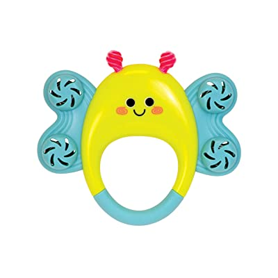 Manhattan Toy Butterfly Tambourine Musical Baby Rattle: Toys & Games
