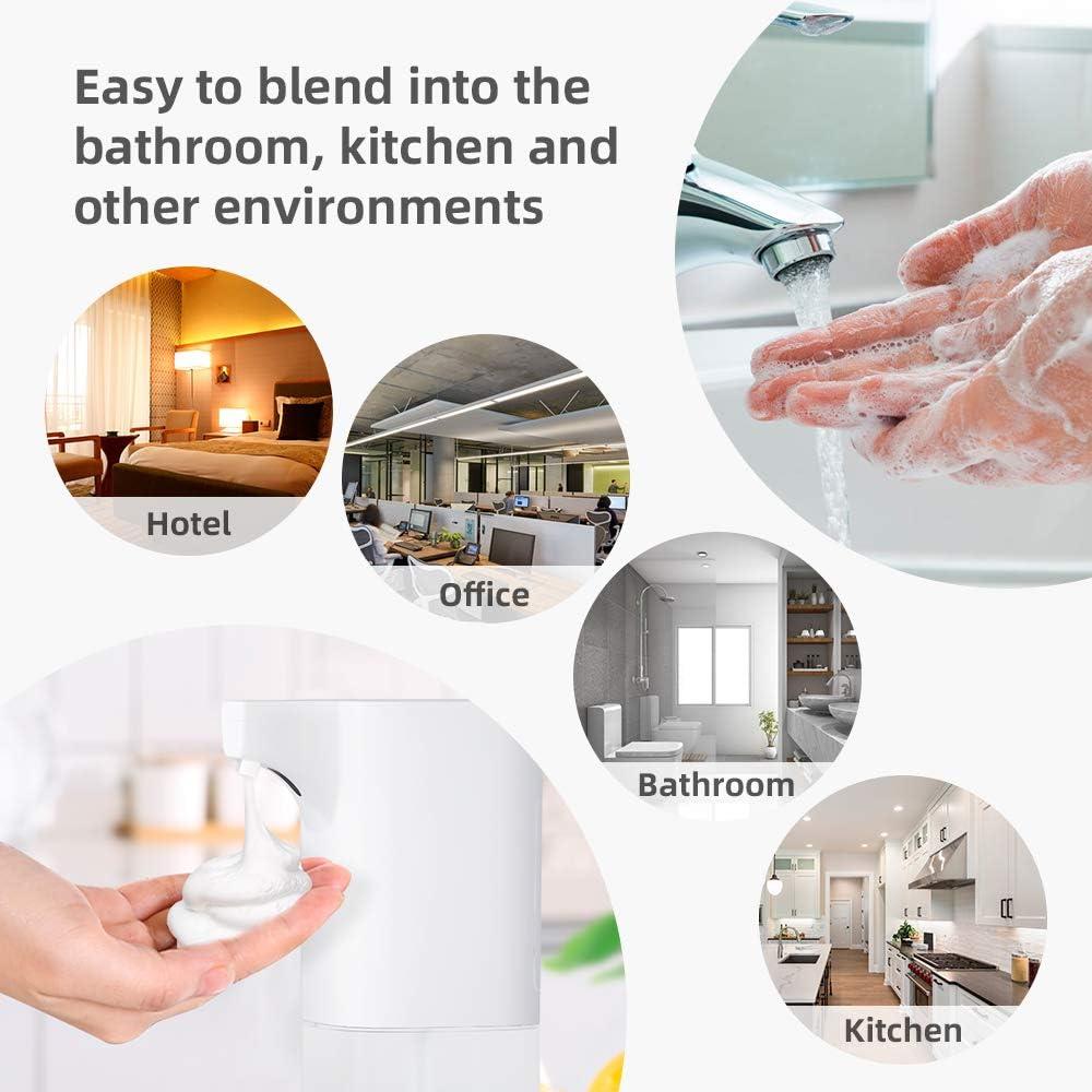 Elbow Press Seifenpumpen f/ür Home Hotel Krankenhaus Seifenspender BZLine 500ML Desinfektionsspender Edelstahlgriff Hygienischer Seifenspender mit Wandmontur