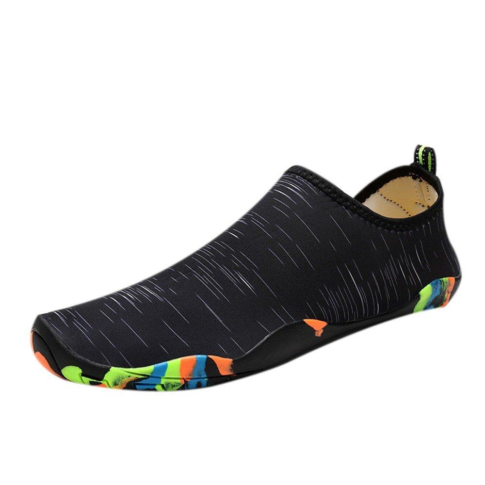 Sherostore ♡ Womens and Mens Kids Water Shoes Barefoot Quick-Dry Aqua Socks for Beach Swim Surf Yoga Exercise