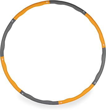 4. Phoenix Fitness 1.1kg Weighted Foam Padded Fitness Hoop