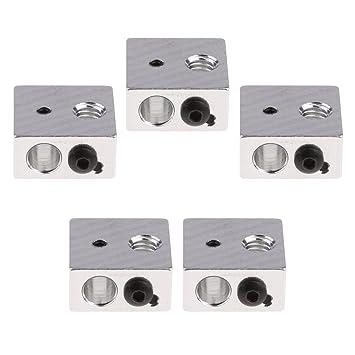 SM SunniMix 5 X Bloque De Aluminio del Calentador para ...