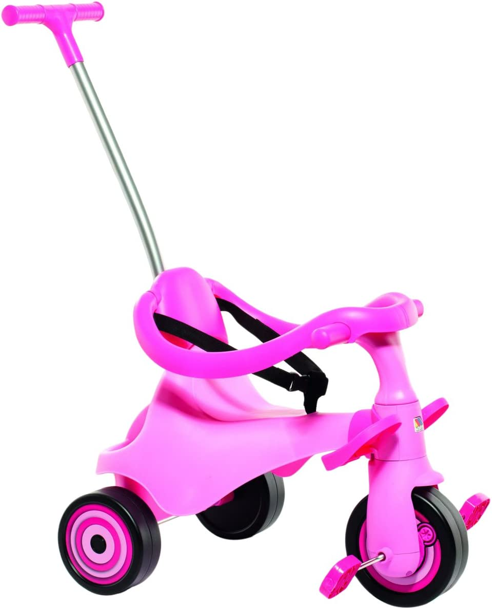 Moltó-Urban Trike II City Girl Triciclo Infantil 5 en 1, Color Rosa 16218