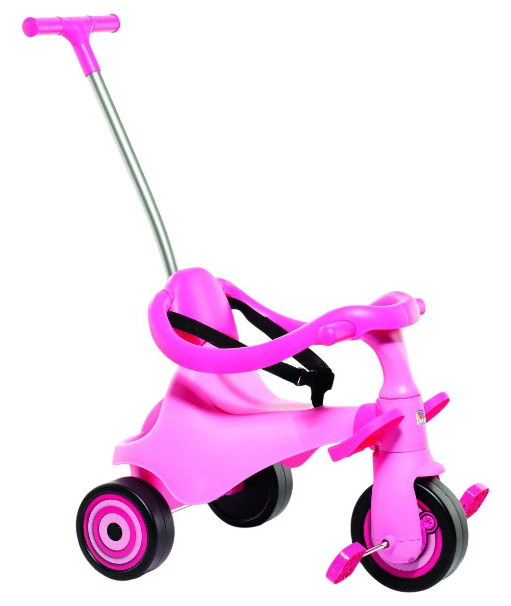 MOLTO- Triciclo Urban Trike II, Color Rosa (16218)