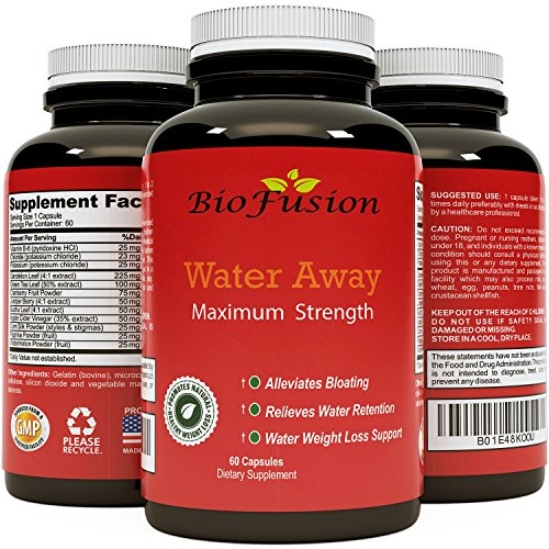 (Water Pills for Water Loss An All Natural Diuretic That Relieves Bloating & Supports Fluid Balance for Healthy Weight Loss with Dandelion, Potassium & Antioxidant Green Tea for Women & Men)