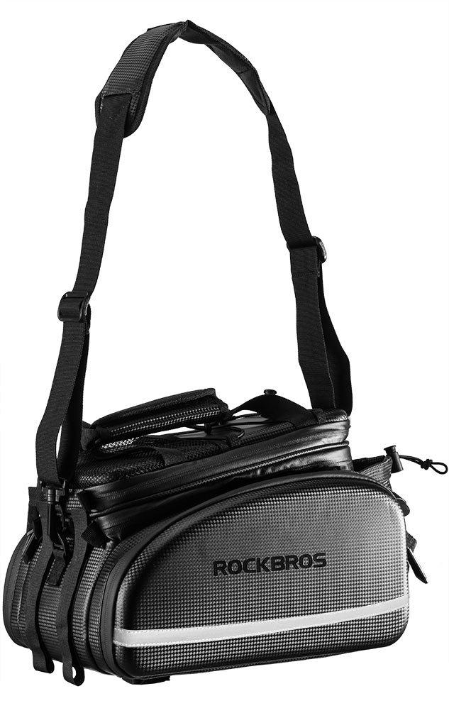 Amazon.com: RockBros - Bolsa para maletero de bicicleta ...