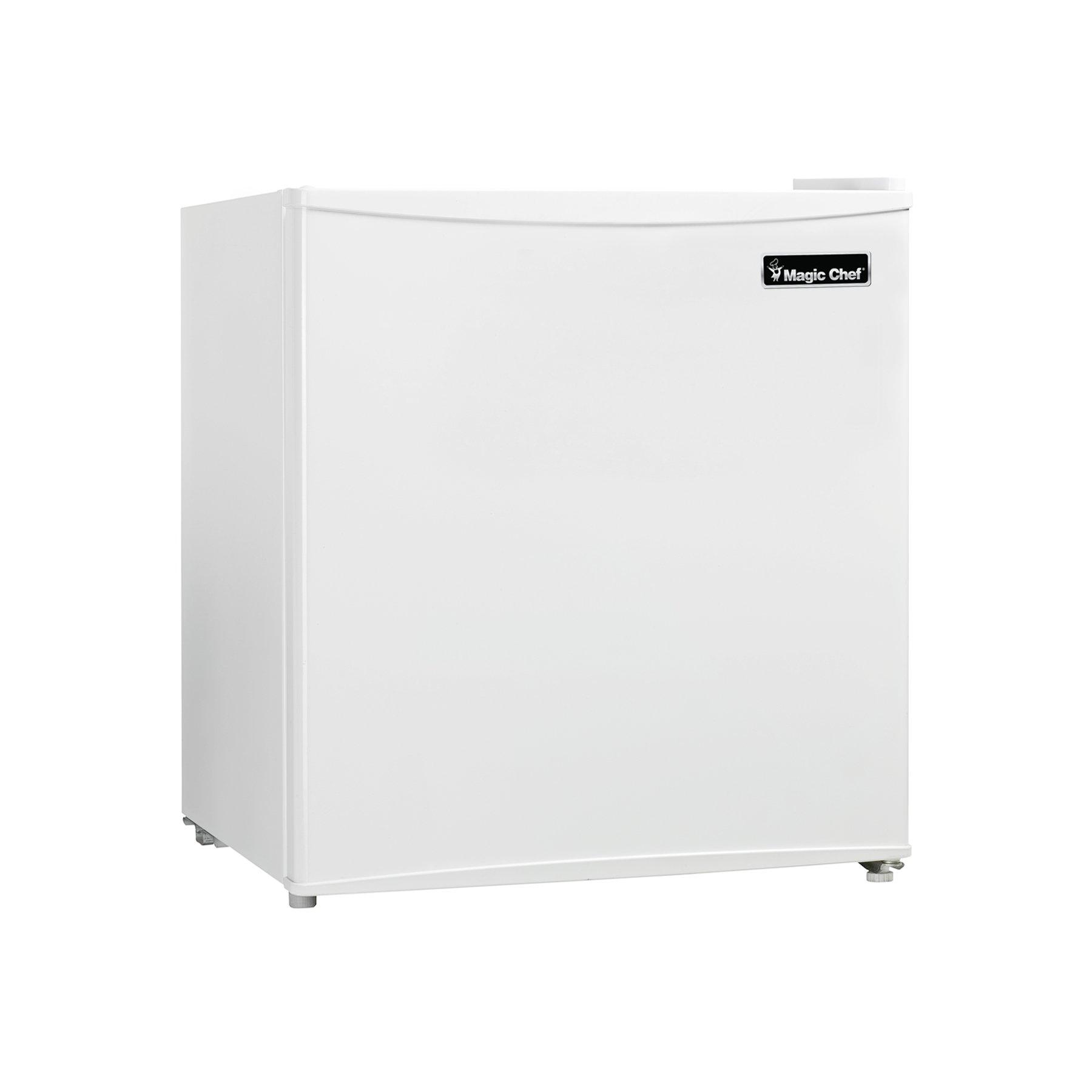 Magic Chef MCBR160W2 Refrigerator, 1.6 cu.ft, White