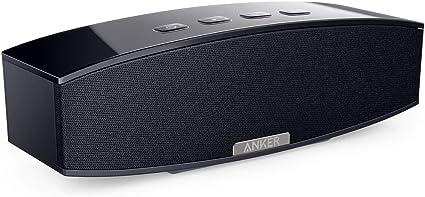 2 10W Passive Subwoofers, Anker 20W Premium Stereo Portable Bluetooth Speaker