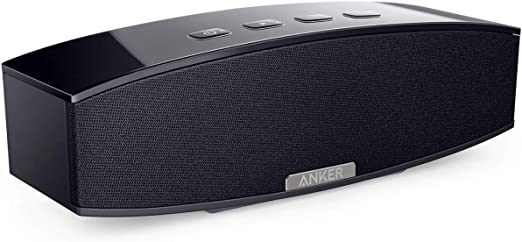 Anker 10W Premium Stereo Portable Bluetooth Speaker with Dual 10W Drivers,  Two Passive Subwoofers, Wireless Speaker for iPhone, Samsung, Nexus, and