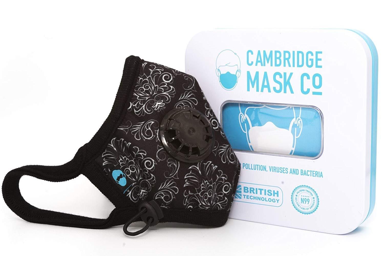 Cambridge Mask Co Pro Anti Pollution N99 Washable Military Grade Respirator with Adjustable Straps - Duke M Pro by Cambridge Mask Co (Image #3)