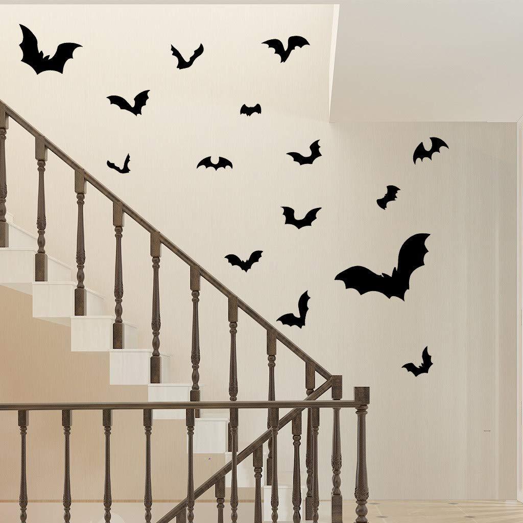 acquista autentico più popolare nuove foto Adesivi 3D Pipistrelli Decorazione Di Halloween, Adesivi ...
