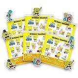 Spongebob Party Favors Set - 624 in 6 Packs