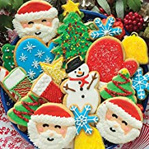 Springbok Puzzles - Cookies & Christmas - 500 Piece Jigsaw Puzzle - Large 20 Inches by 20 Inches Puzzle - Made in USA - Unique Cut Interlocking Pieces
