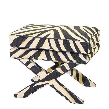 Awe Inspiring Amazon Com Zebra Ottoman Eichholtz Cordoba Animal Machost Co Dining Chair Design Ideas Machostcouk