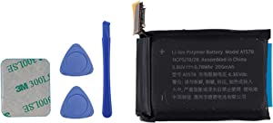 E-YIIVIIL A1578 iwatch Battery Replacement Compatible with Smart Watch 1st 38mm A1553 A1554 MJ2T2LL/A MJ2U2LL/A MJ2V2LL/A MJ2W2LL/A