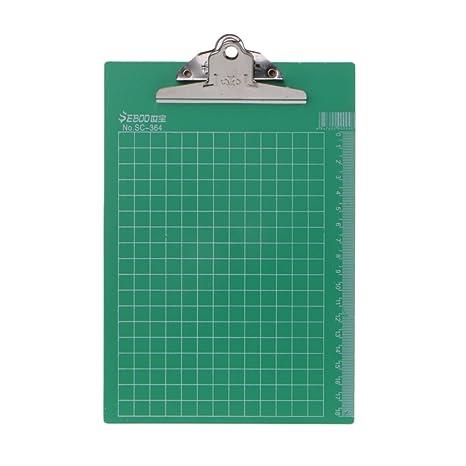fxco A4 Portapapeles vade archivadores Soporte de documentos escolar oficina material, color Zufällige 16x23cm/
