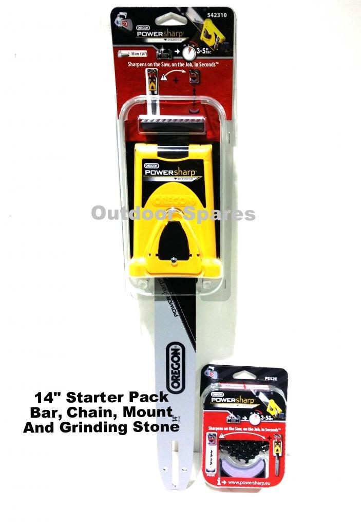 14 Oregon PowerSharp Chainsaw Sharpening Starter Kit For Mitox Chainsaws