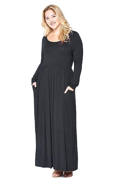 Modern Kiwi Women\'s Plus Size Basic Times Long Sleeve ...