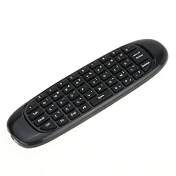 2,4 G giroscopio teclado inalámbrico Ratón micrófono Sensor de movimiento pégate Control remoto para