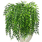 MARJON-Flowers3-Bouquets-Realistic-Artificial-Plants-Fake-Weeping-Willow-Artificial-Plastic-Shrubs-for-Outdoors-Home-Table-Kitchen-Office-Wedding-Garden-Grave-Decorations