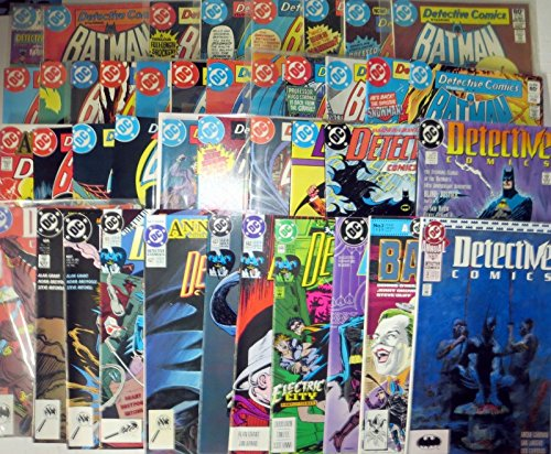 DETECTIVE COMICS COLLECTION! 41 ISSUES! BATMAN BRONZE AGE GEMS FROM THE 80s-90s!