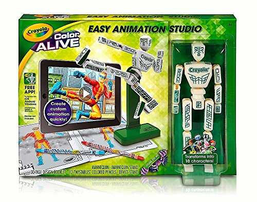 Crayola Color Alive Easy Animation Studio Model: 95-1052 3D 4D Toy Game]()