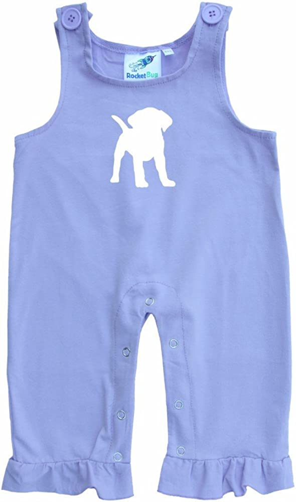 Rocket Bug Baby and Toddler Overalls-Puppy
