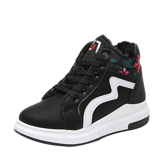8f00bcab8277 Amazon.com  Clearance!Womens High Top Lace-Up Sneakers