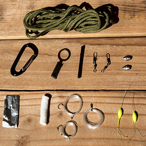Best-Emergency-Survival-Kit-Ultralight-Easy-to-Carry-Paracord-Grenade-Perfect-Gift-for-Men-All-In-One-Kit-Includes-Carabiner-Knife-Blade-Fire-Starter-Tinder-Fishing-Kit-and-More