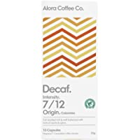 Alora Coffee Co, 1 pack of 10 Nespresso Compatible pods (10 pods total), Decaf