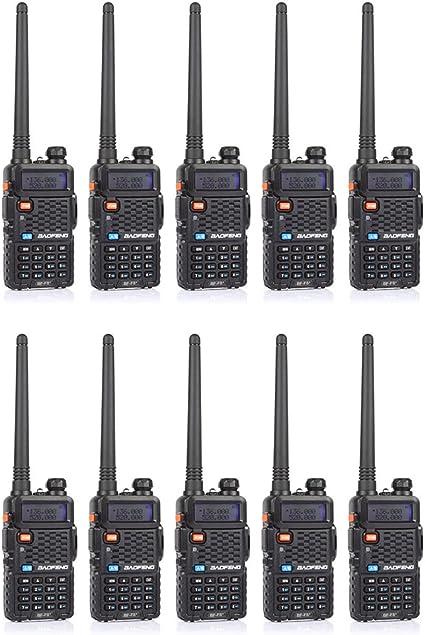 BaoFeng BF-F8 2nd Gen UV-5R Dual-Band 136-174//400-520 MHz FM Ham Two-Way Radio Transceiver