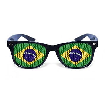 Gafas graciosas verdes Brasil - Única: Amazon.es: Juguetes y ...