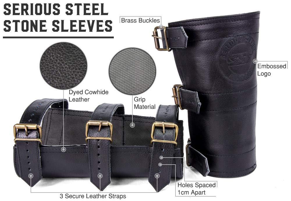 Strongman Atlas Stone Sleeves Serious Steel Fitness Stone Sleeves