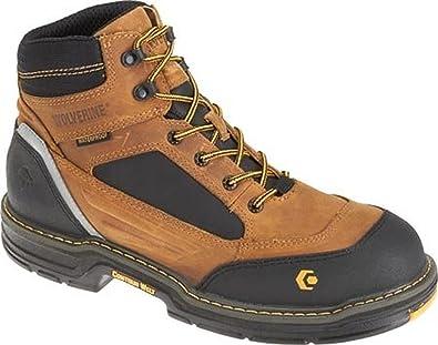 Men's Overman Waterproof CarbonMax 6 in. EH Work Boot & HDO Cap Bundle