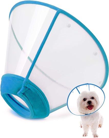 Amazon.com: Cuello de recuperación ajustable para mascotas ...