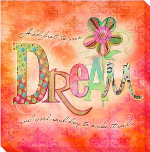 Dream by Connie Haley Gallery-Wrapped Custom Canvas Giclee (Ready-to-Hang) (Wrap Haley Double)