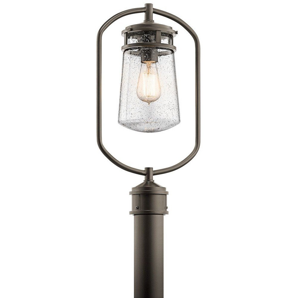 Kichler 49497AZ One Light Outdoor Post Mount by Kichler