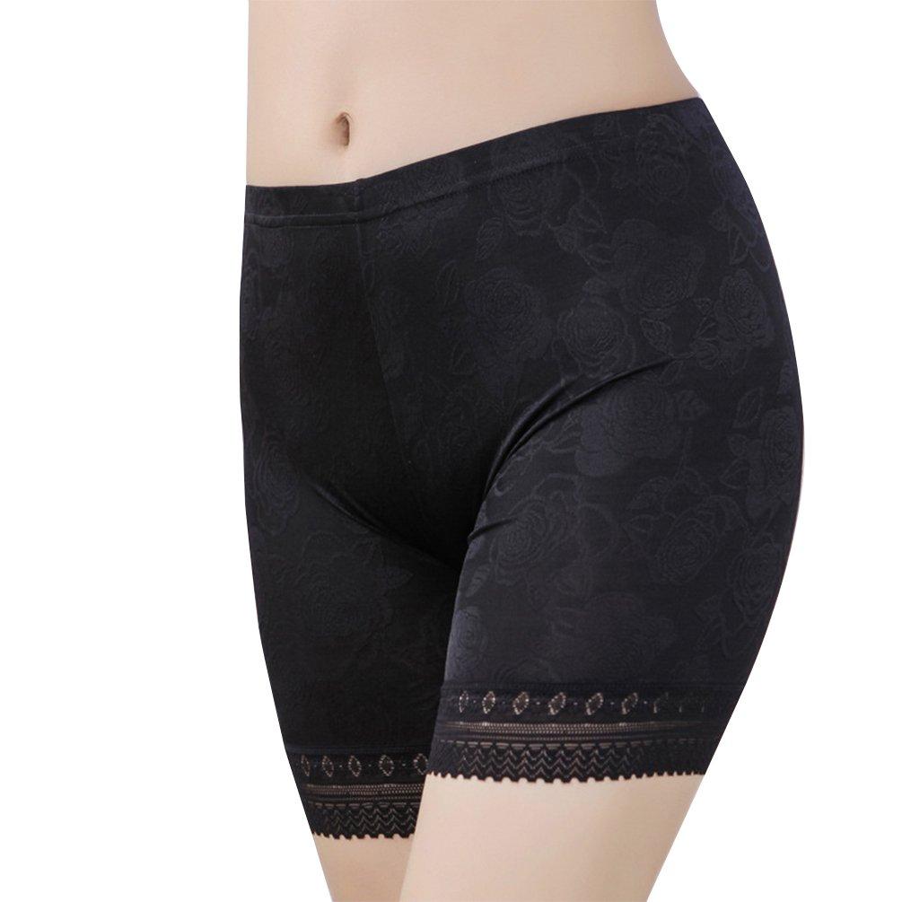 Fitibest Donna Pantaloncini Intimi in Pizzo con Cintura Elastica