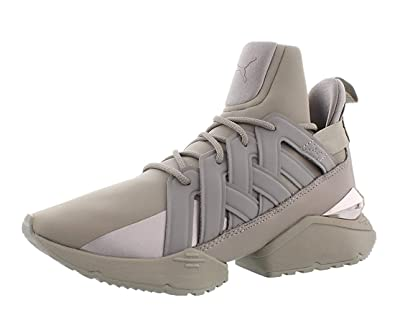 PUMA Womens Muse Echo Hight Top Lace Up Fashion Sneakers