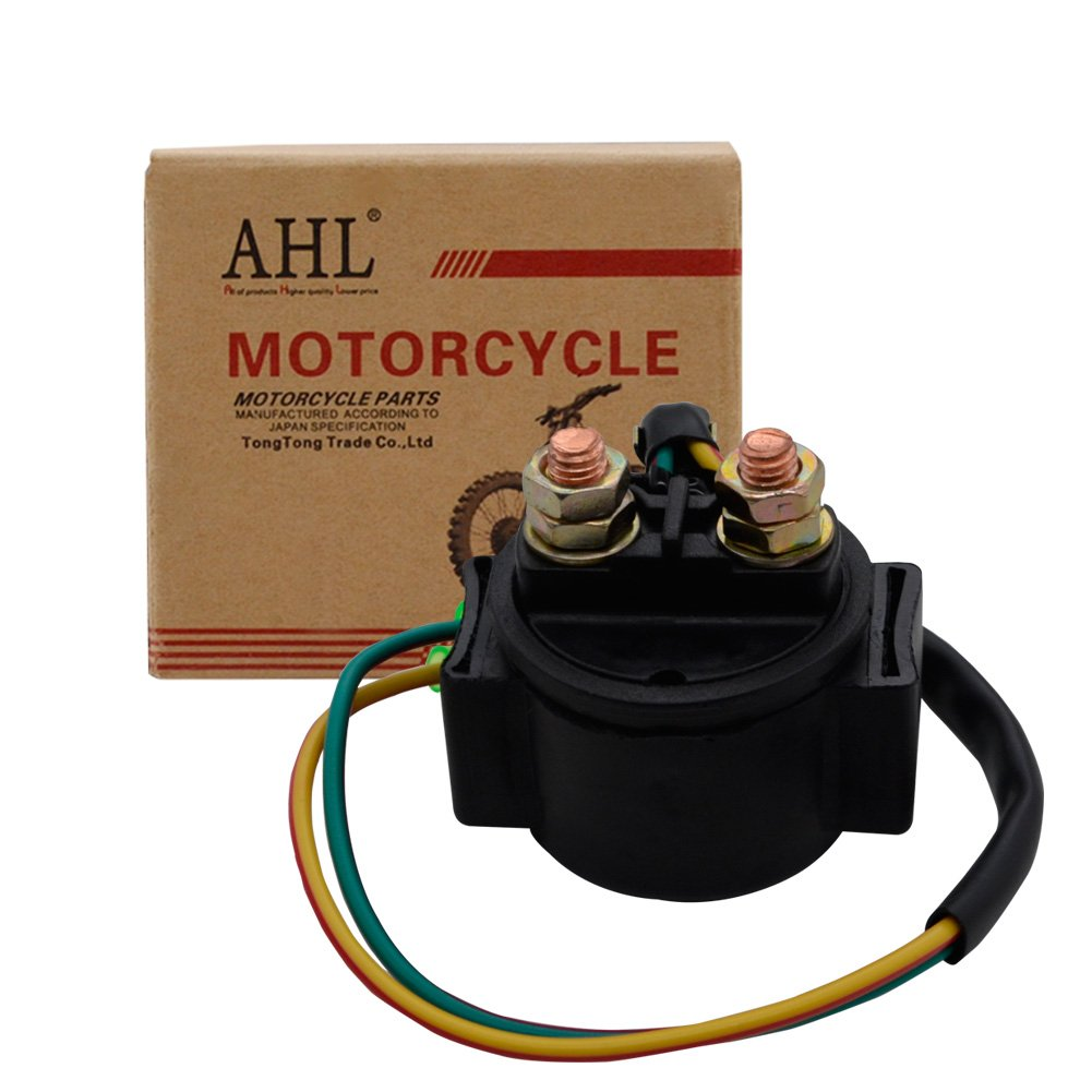AHL Motorcycle Starter Solenoid Relay for HONDA TRX250TM 1998-2002