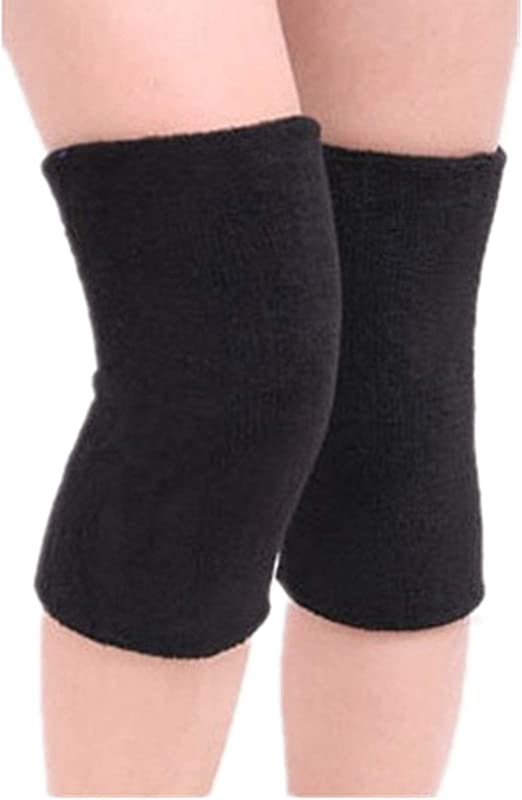 Mcolics Cotton Non-Slip Soft Absorbent Knee Pad Support Brace Protector Leg Sleeve Kneelet Thickening Extended Warm for Men /& Women Outdoor Sports Running Dancing Gym Yoga Fitness 1 Pair