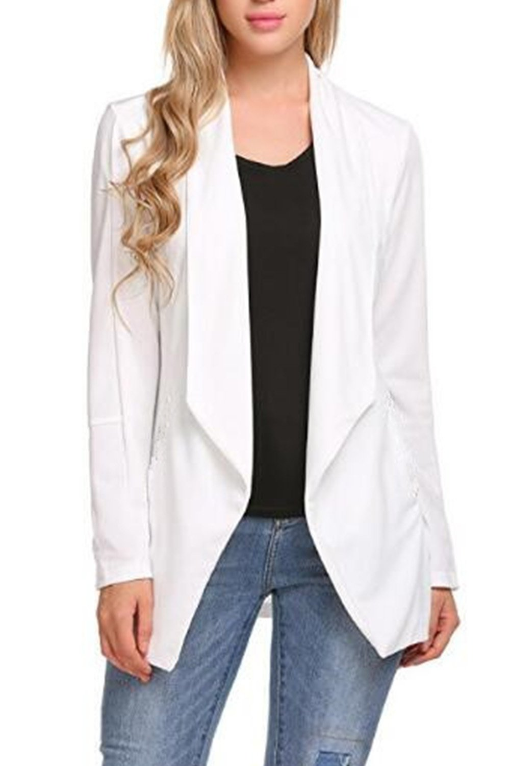 Women Elegant Long Sleeve Cardigan Formal Suit CACY40