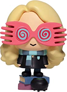 Enesco Wizarding World of Harry Potter Little Charms Collection Series 4 Luna Lovegood Figurine, 3.21 Inch, Multicolor