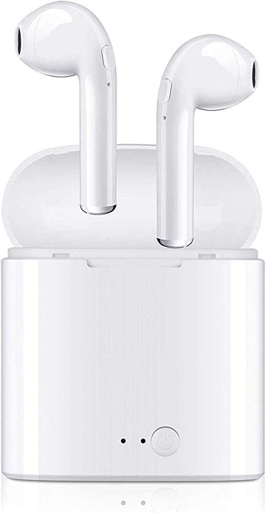 V4.2 Earbuds, Waterproof Stereo Hi-Fi Sound Headphones, Earphones with Portable Charging Case